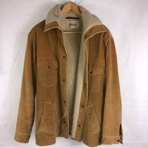 PenWesterner Pendleton Corduroy Fur Lined Jacket